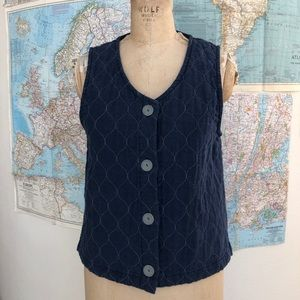 Habitat clothes to live in quilted vest